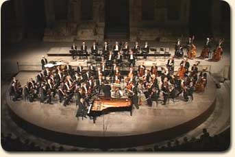 With the Vienna Philharmonic in Athens
